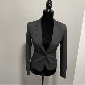 H&M fitted single button blazer size 2